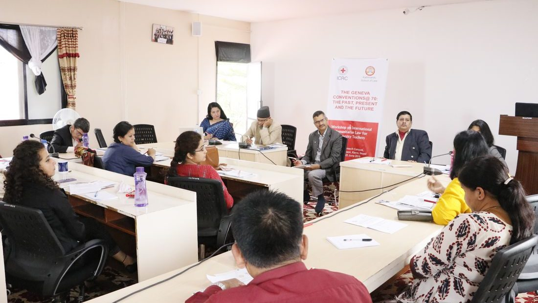 Nepal: Workshop on international humanitarian law for university teachers