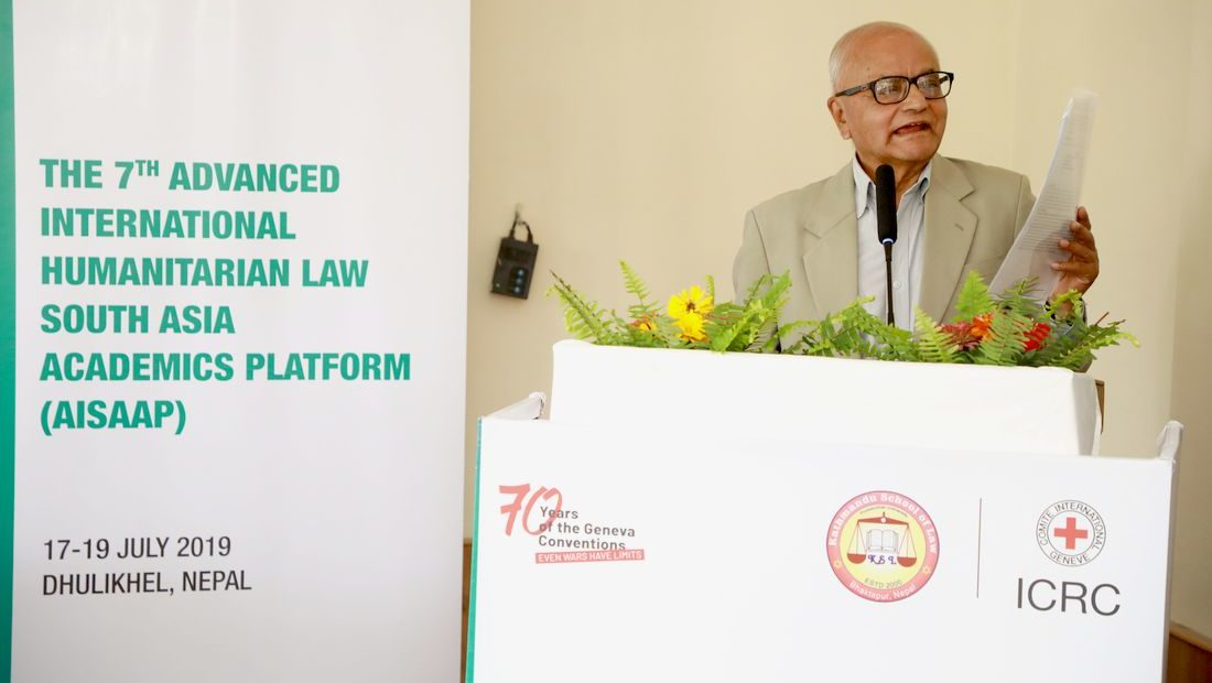 Nepal: Regional experts discuss IHL on eve of Geneva Conventions' 70th anniversary
