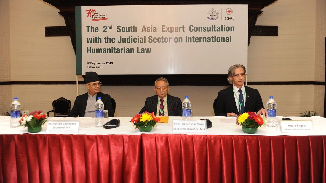 South Asian judiciaries work towards the enhancement of IHL capacity across the region