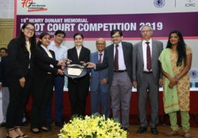 Symbiosis Law School Noida wins 19th Henry Dunant Memorial Moot Competition