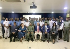 Workshop on Maritime Security Operations for Officers of Maldives National Defence Force