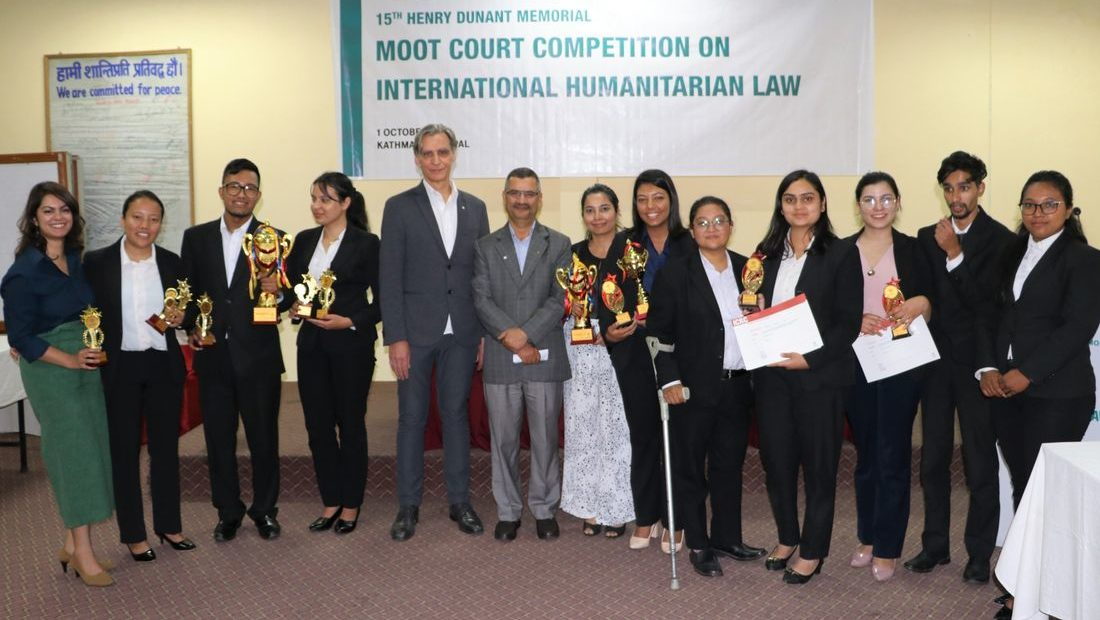 Kathmandu School of Law wins the IHL moot court competition in Nepal