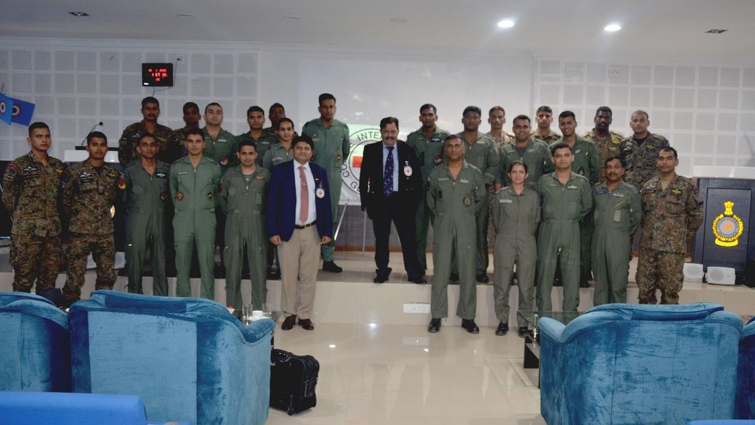 IHL Workshop for Air Force Personnel in Tamil Nadu