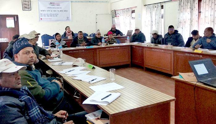Restoring Family Links training held in Nepal