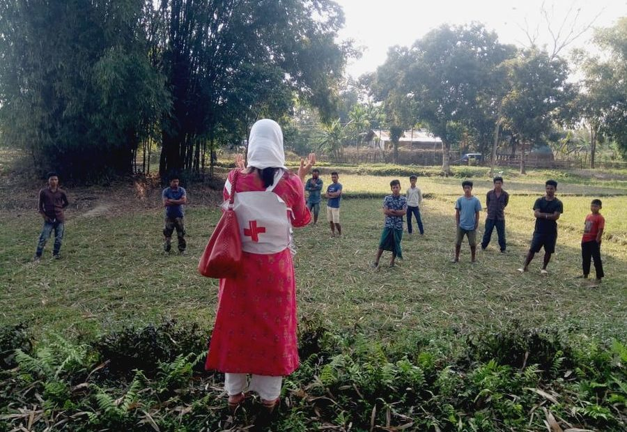 COVID-19: Unified Response with Indian Red Cross Volunteers' Frontline Support