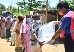 Supporting Communities Affected by Floods in Assam