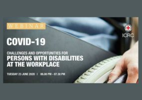 COVID-19: Challenges and Opportunities for Persons with Disabilities at the Workplace