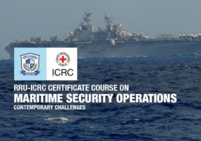 ICRC and RRU conduct online Certificate Course on Maritime Security Operations