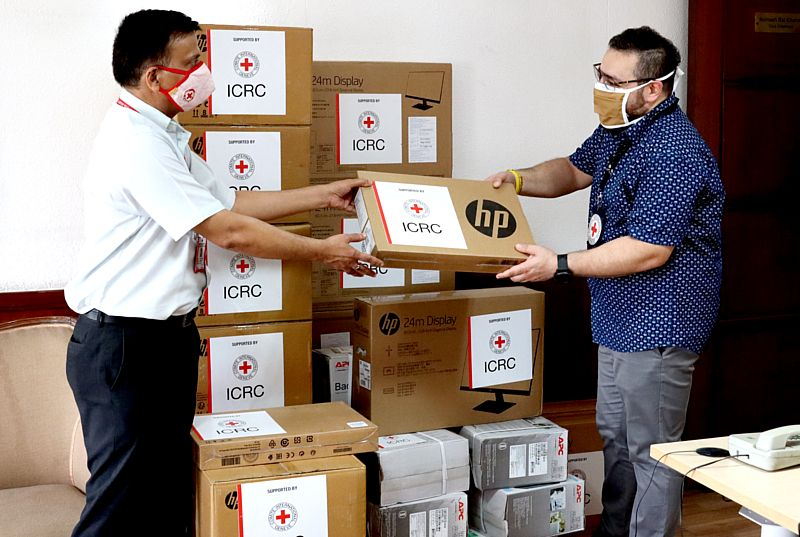 ICRC provides Information and Communication Technology aid to IRCS for a paperless future