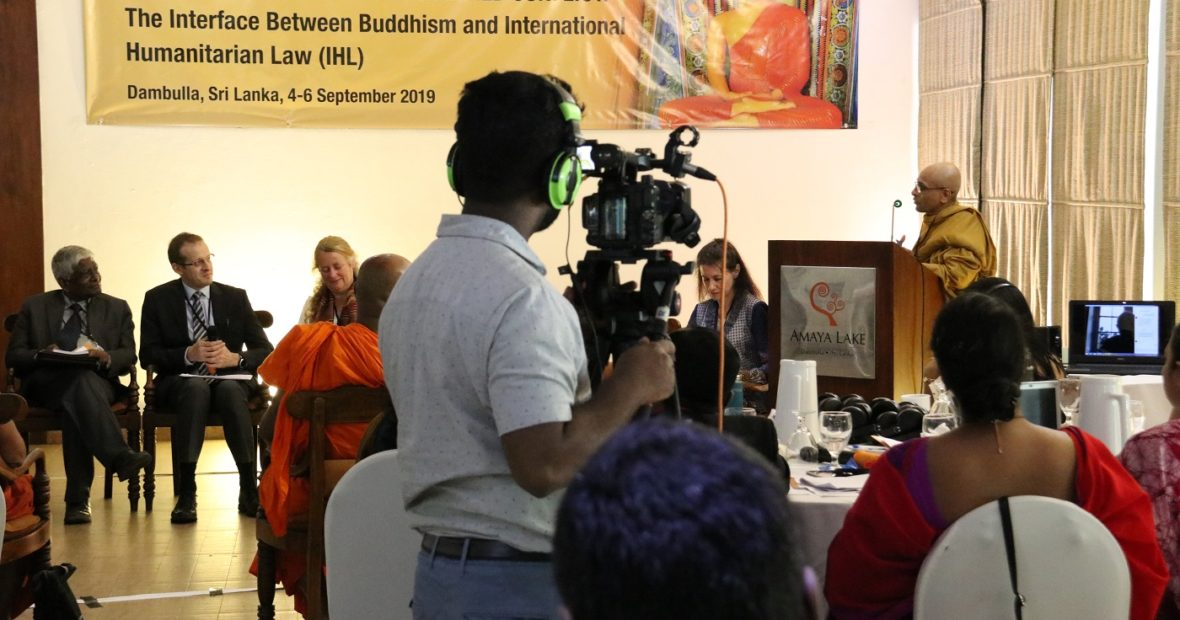 Videos from the Buddhism and IHL Conference – Opening Session