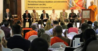 Global Conference on the Interface between Buddhism and IHL