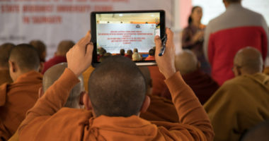 ICRC's Engagement with Buddhist Circles in Myanmar