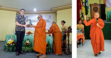 Buddhist Ethics and IHL: Seminar Organized by ICRC and Smaratungga Buddhist College