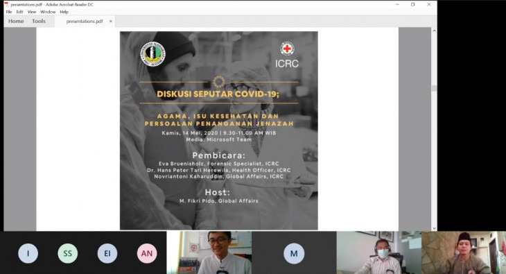 Webinar: Religions, Health Issues and Management of the Dead with Alkhairaat University