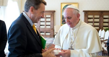 ICRC President in Vatican to Discuss Humanitarian Issues with Pope Francis