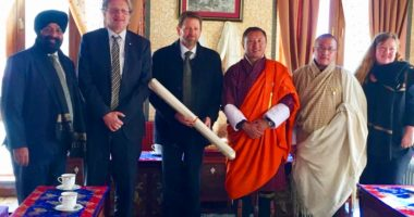 ICRC Delegation Visits Bhutan