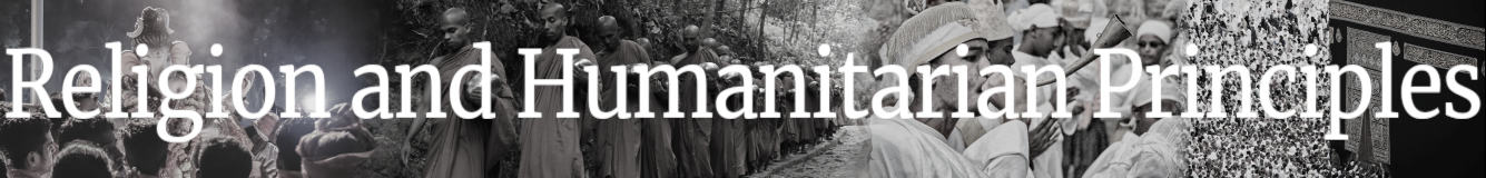 Religion and Humanitarian Principles