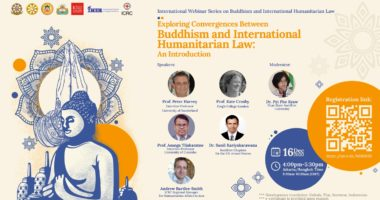 "Introductory Webinar: ""Exploring Convergences Between Buddhism and International Humanitarian Law"""