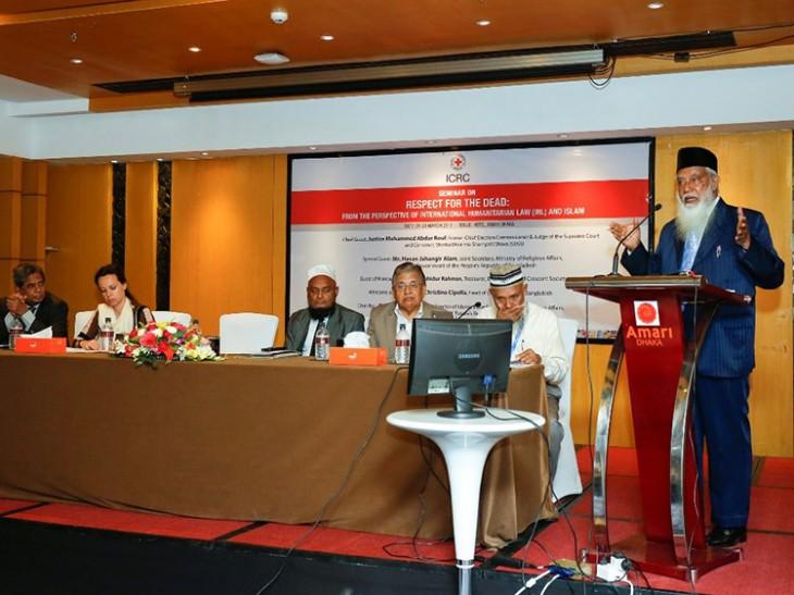 Bangladesh: Respect for the Dead and Humanitarian Principles