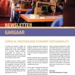 Gargaar Newsletter  - Issue No. 3 January 2014 (English)