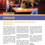 Gargaar Newsletter  - Issue No. 3 January 2014 (Somali)