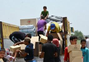 ICRC boosts relief effort in Iraq