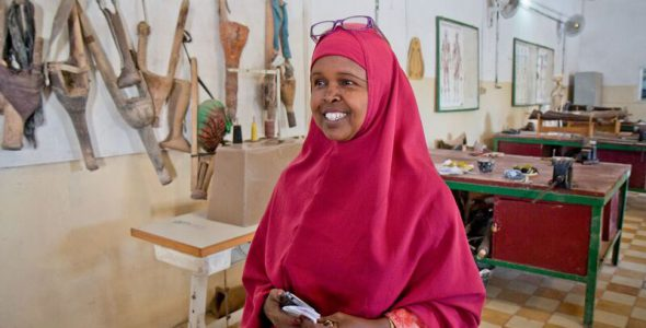 Woman heads Mogadishu rehab centre