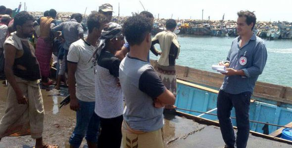 Yemen: ICRC strongly condemns civilian ship attack