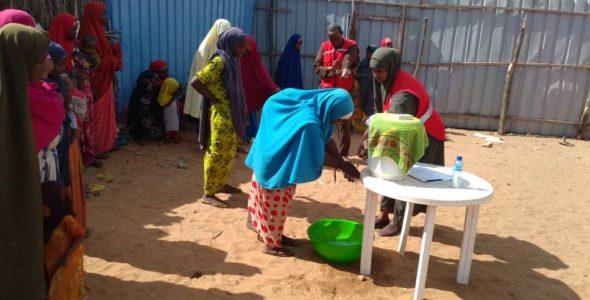 ICRC response to the corona virus in Africa