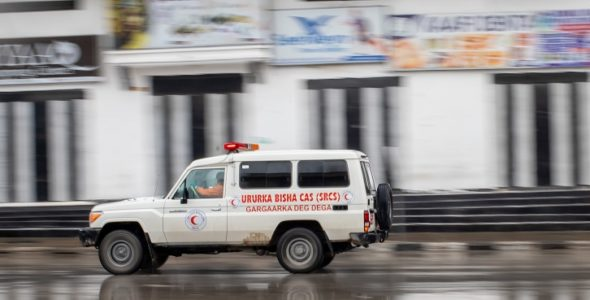 Somali Red Crescent launches of toll-free number (446) for emergency services