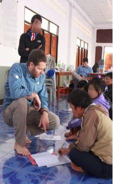 โครงการให้ความช่วยเหลือผู้บาดเจ็บจากการสู้รบของไอซีอาร์ซีประเทศไทย