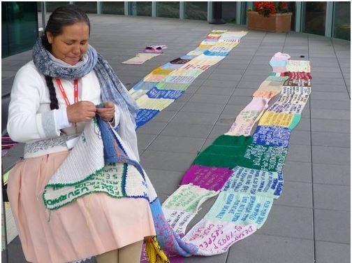 ผ้าพันคอแห่งความหวังในนครเจนีวา
