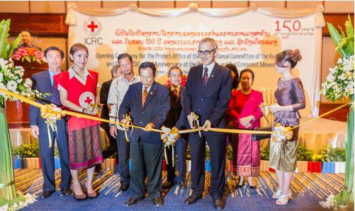 ICRC เปิดสำนักงานในนครหลวงเวียงจันทน์อย่างเป็นทางการ