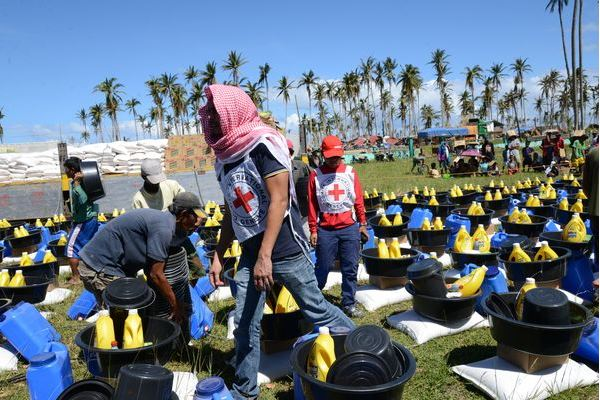 ICRC ลงพื้นที่ช่วยเหลือผู้ประสบภัยไต้ฝุ่นโบพา
