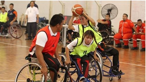 กัมพูชา/มาเลเซีย-กีฬาช่วยคืนผู้พิการสู่สังคม