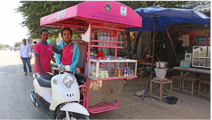 กัมพูชา-ชีวิตใหม่สำหรับผู้พิการ