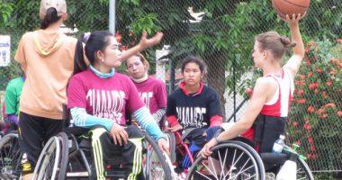 กัมพูชา-สัมภาษณ์แมรี่ แอลลิสัน คุก เจ้าของเหรียญทองกีฬาพาราลิมปิคบาสเก็ตบอลปี 2551