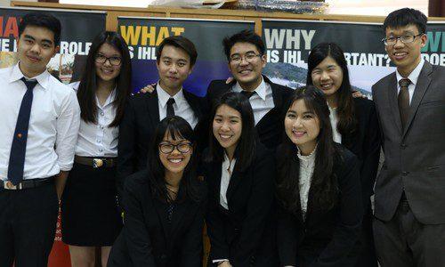 การแข่งขันว่าความศาลจำลองในกฎหมายมนุษยธรรมระหว่างประะเทศครั้งที่ 1 (รอบคัดเลือกตัวแทนประเทศ) ประเทศไทย