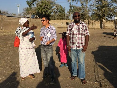 อาสาสมัครจากกาชาดไนจีเรียจะเป็นผู้ดูแลและจัดการทุกสิ่งทุกอย่างในแคมป์ผู้พล้ดถิ่นที่เมืองบิว