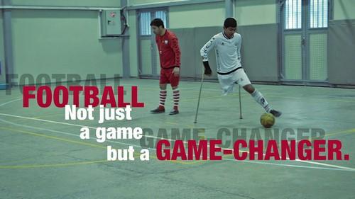 ฟุตบอลไม่ใช่เพียงแค่เกมการแข่งขัน แต่มันคือเกมเปลี่ยนชีวิต