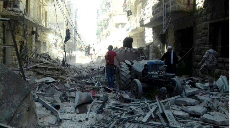 """ซีเรีย-อเลปโป """"ความขัดแย้งที่เลวร้ายที่สุดอีกครั้งหนึ่งในโลกยุคปัจจุบัน"""""""