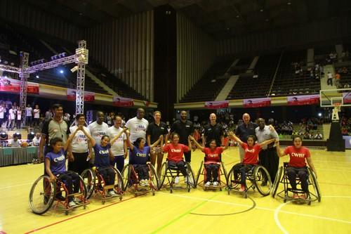 NBA กับทีมบาสเก็ตบอลคนพิการหญิงกัมพูชา