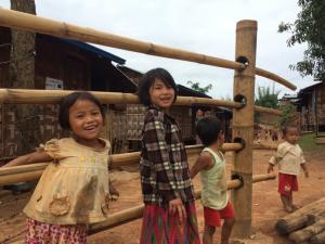 เด็กๆภายในศูนย์พักพิงที่เมืองสี ทางตอนเหนือของรัฐฉาน