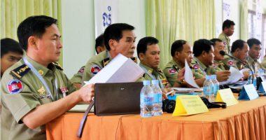 ผู้บัญชาการเรือนจำในกัมพูชาร่วมหารือเรื่องมาตรการความปลอดภัยและฝึกอาชีพให้ผู้ต้องขัง