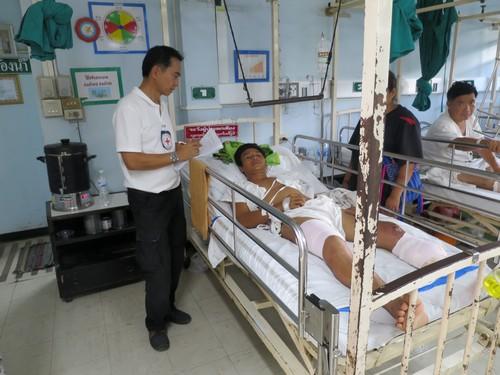 โครงการช่วยเหลือผู้ได้รับผลกระทบจากการสู้รบตามแนวชายแดนไทย-เมียนมาร์