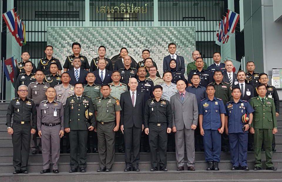 กองทัพบกเป็นเจ้าภาพร่วม ICRC จัดการประชุมว่าด้วยปฏิบัติการด้านความมั่นคงโดยทหารเอเชีย-แปซิฟิก ครั้งที่ 1