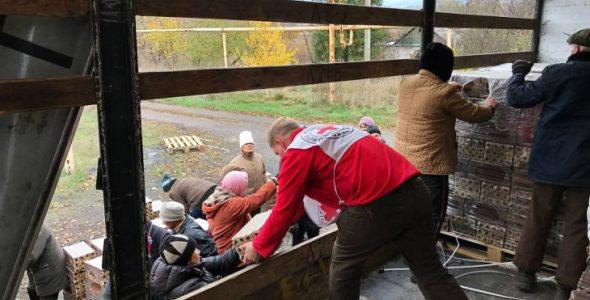แข่งกับเวลา! เจ้าหน้าที่ ICRC เตรียมพร้อมรับมือหน้าหนาว -20 องศา โดยไม่มีก๊าซและไฟฟ้าในยูเครน