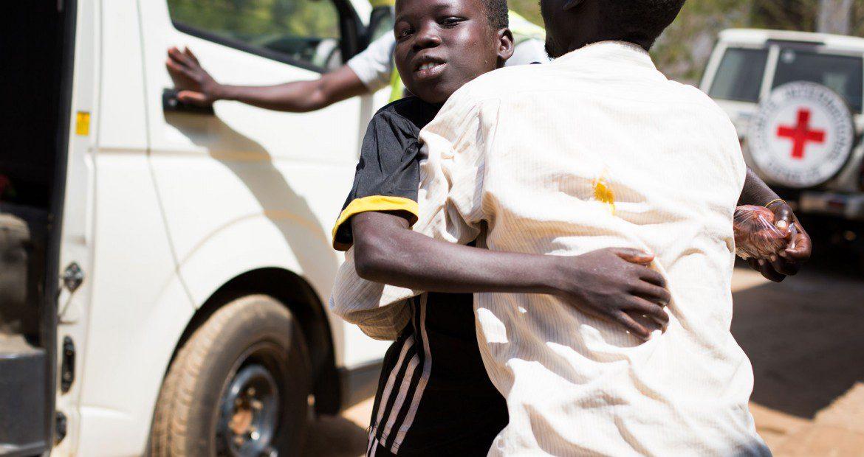 ซูดานใต้: เด็กน้อยที่ถูกลักพาตัวได้กลับคืนสู่ครอบครัวอีกครั้ง
