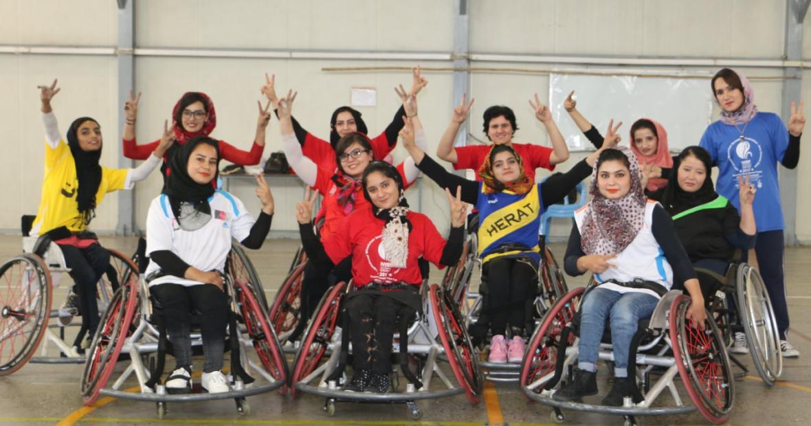 กายพร้อมใจพร้อม ทีมวิลแชร์บาสเกตบอลหญิงของอัฟกานิสถานเดินทางสู่ Asian Para Games