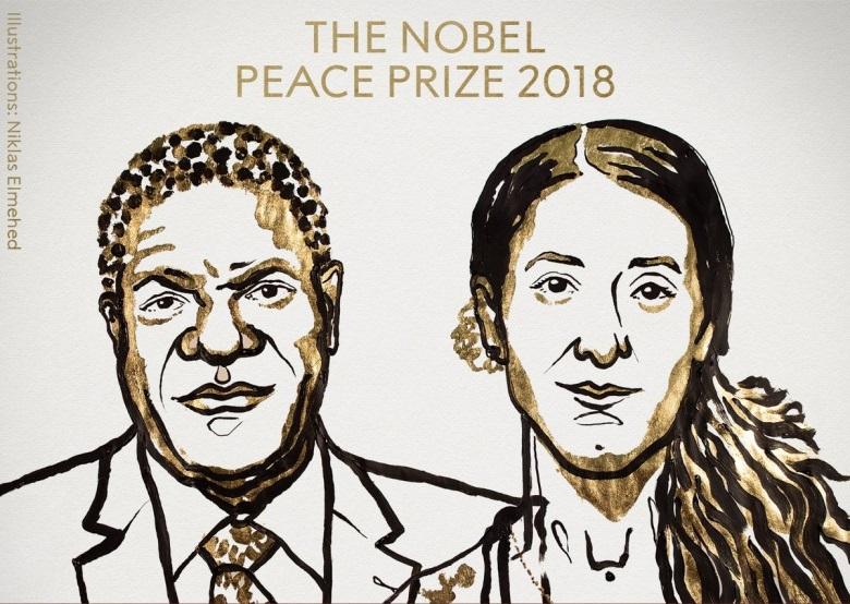 เผยปัญหาความรุนแรงทางเพศในยามสงคราม: รางวัลโนเบลสาขาสันติภาพปี ค.ศ. 2018